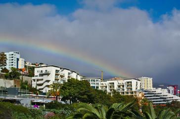 Rainbow over Funchal - Madeira