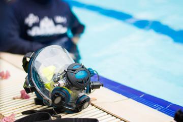 full face mask scuba diving