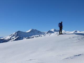ski de randonnée dans le Capcir et Péric
