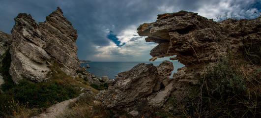 seashore Crimea