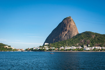 Wall Mural - Sugarloaf Mountain, the famous natural landrmark of Rio de Janeiro, Brazil