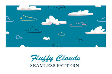 Fluffy Clouds Pattern