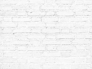 White brick wall Texture Design. Empty white brick Background for Presentations
