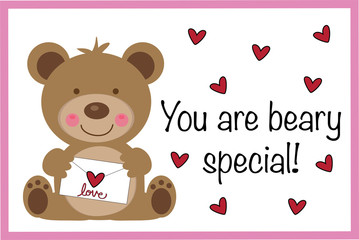 You Are Beary Special Valentine