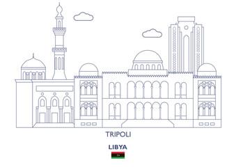Tripoli City Skyline, Libya