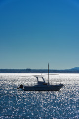 Boot vor Palma