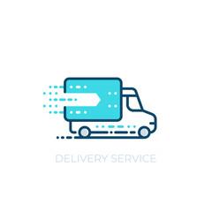 delivery service vector icon