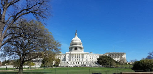 United States Capitol Building, on Capitol Hill in Washington DC, USA