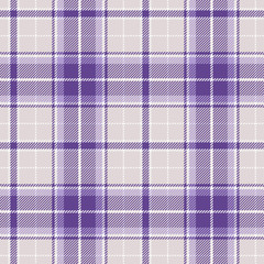Violet plaid seamless pattern. Vector background eps10