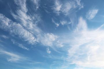 Sky empty space