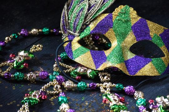 mardi gras mask for masquerade parade