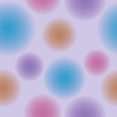 background of blurred balls in lilac tones