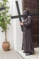 "Penitent of the brotherhood of ""El Buen Fin"""