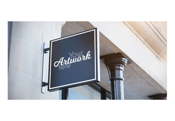 Outdoor Sign Mockup 6