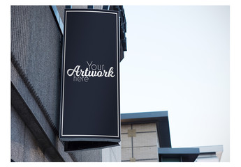 Outdoor Sign Mockup 9