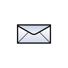 Mail template vector