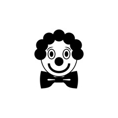 clown icon. Elements amusement park concept and web apps. Icon for website design and development, app development. Premium icon