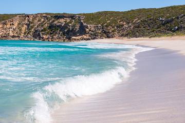 Kangaroo Island - West Bay Beach crashing wave
