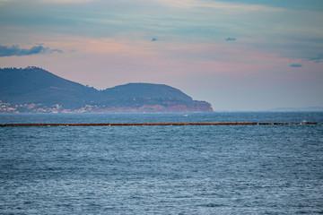 Vue sur Baie du Lazaret à La Seyne-sur-Mer
