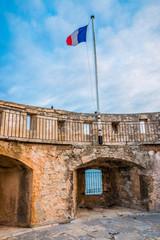 Au sommet de la tour du Fort Balaguier à La Seyne-sur-Mer