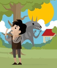 peter and the wolf tale character