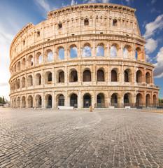 Fotomurales - The Coliseum or Flavian Amphitheatre (Amphitheatrum Flavium or Colosseo), Rome, Italy.