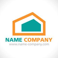 logo construction maison agence gestion combles isolation