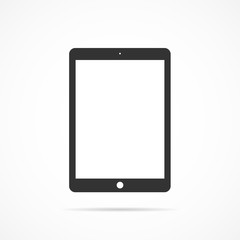 Vector image of icon tablet.