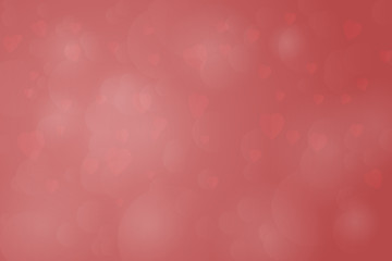 Valentine's day. Background with hearts in red colors.