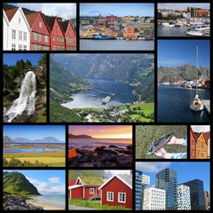 Norway collage