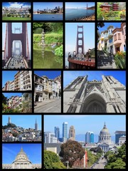 San Francisco collage