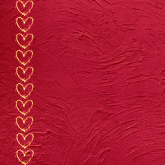 Vintage grunge red background