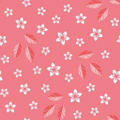 Origami cherryblossom pattern seamless