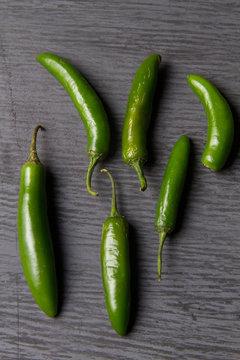 Serrano chili pepper