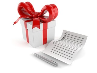 Gift with list