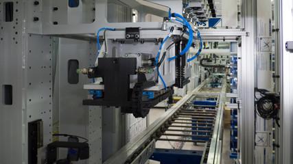 Fototapeta assembly of car engines obraz