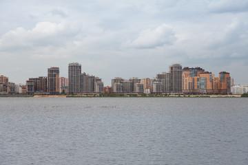 Street view in kazan, Tatarstan Russian federation
