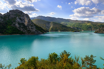 Beautiful lake in France