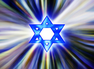 Star of David Jewish gold