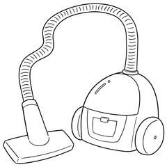 vector of vacuum cleaner