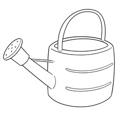 vector of watering can