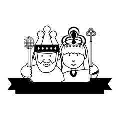 King and Crown design