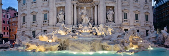 Wall Mural - Trevi Fountain Rome