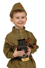 The little military correspondent