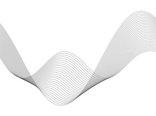 Design element Wave many parallel lines wavy form30