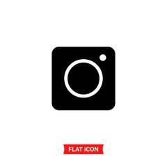 Photo vector icon