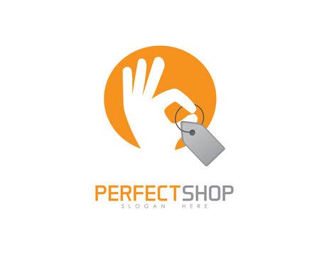 Perfect shop logo