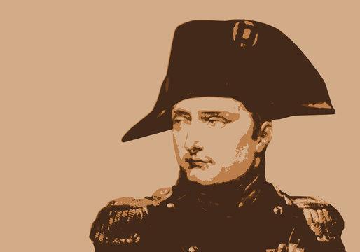 Napoléon - empereur - portrait - personnage historique - Bonaparte - personnage célèbre
