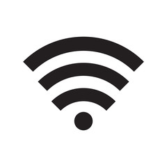 Wifi icon vector illustration. Free royalty images.