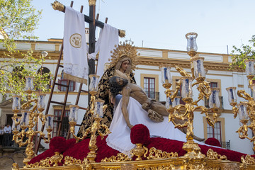 Wall Mural - imágenes de la semana santa de Sevilla, hermandad del Baratillo